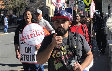 Harvard workers strike for the first time in 30 years