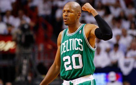 Former Boston Celtics all star Ray Allen announces retirement