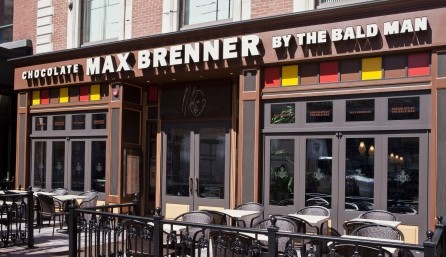 Max Brenner is a high quality, modern restaurant