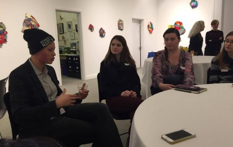 Art students and alumnae discuss the creative economy