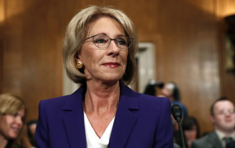 DeVos confirmed as education secretary after contention