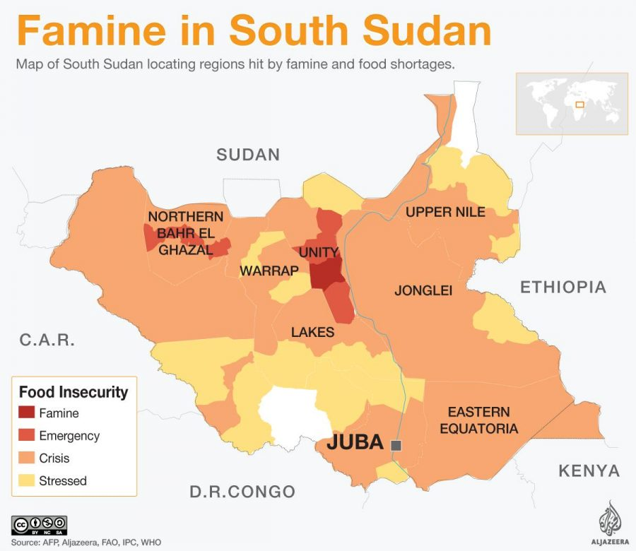 The South Sudan Crisis: conflicts leads to famine
