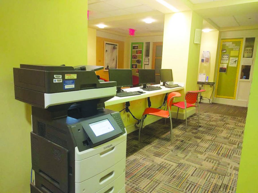 Students share frustration with printing money