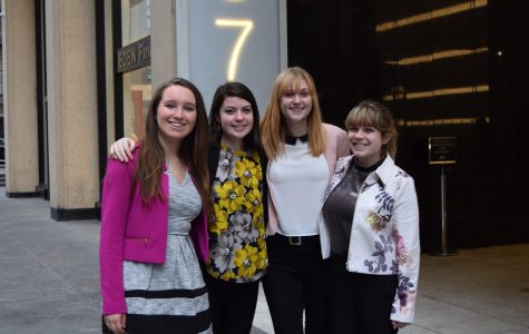 Students gain insight and score jobs through PRSSA's 17th annual Omnicom Trip