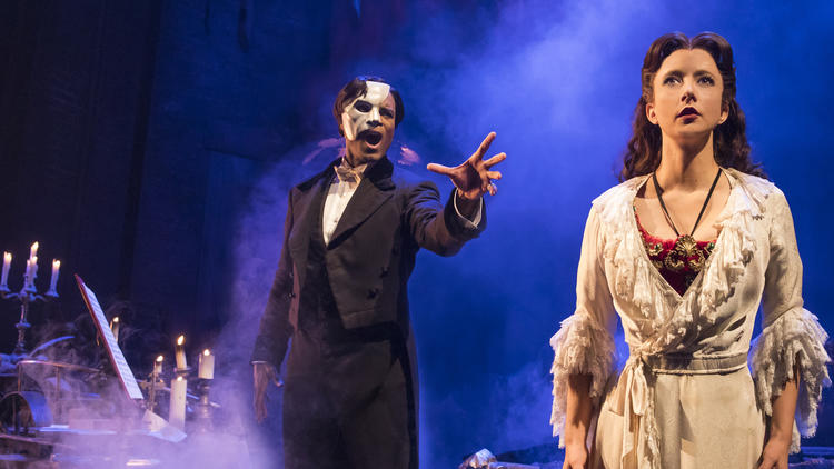 'Phantom of the Opera' arrives at the opera house