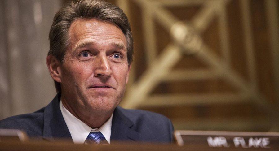 Senator Flake announces he will not seek reelection