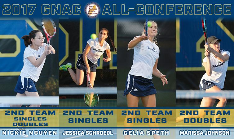 Tennis lands four on GNAC All-Conference Team