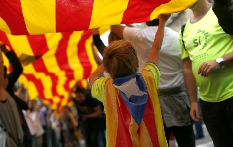 Thousands take to the streets in Barcelona after referendum vote