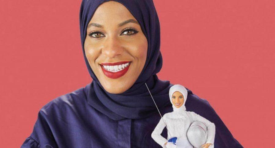 Olympian Ibtihaj Muhammad inspires the first hijab-wearing Barbie