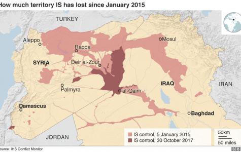 The Islamic State loses territory in Iraq