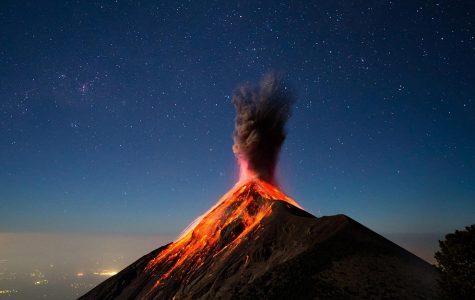 Unexpected volcanic activity in New England