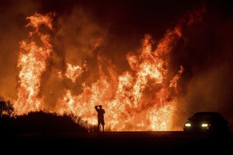 Thomas Fire in Ventura, CA. Source: AP Photo/Noah Berger