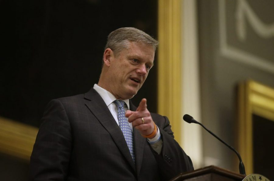 Governor Charlie Baker. Source: Steven Senne/AP/File