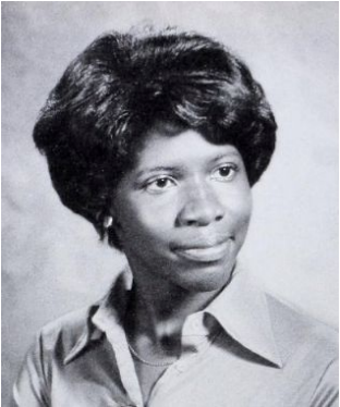 Gwen Ifill pictured in the 1977 'Microcosm' Yearbook.