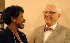 Ifill College Honors Beloved Professor's Mentorship with Gwen Ifill
