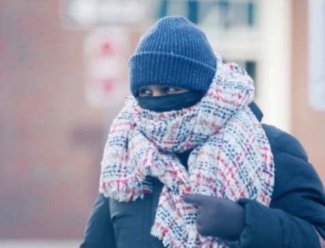 Polar vortex grips Boston