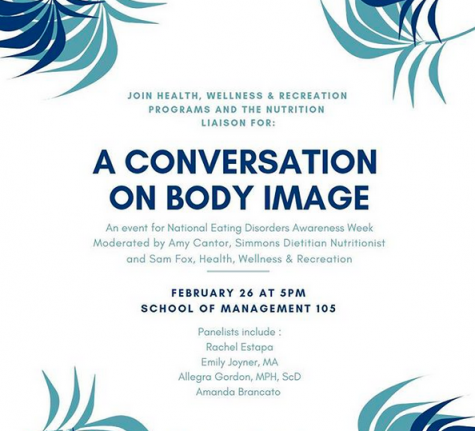 "Simmons Wellness hosts ""A Conversation on Body Image"""