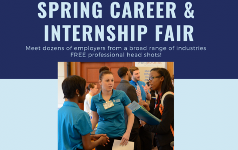 Simmons Students Get to Networking at Spring Career and Internship Fair