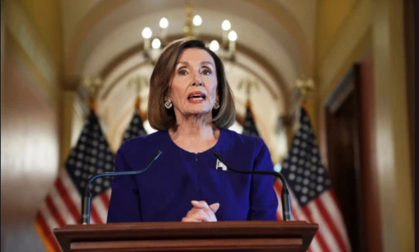 Speaker of the House, Nancy Pelosi (D-California) announces official impeachment inquiry.