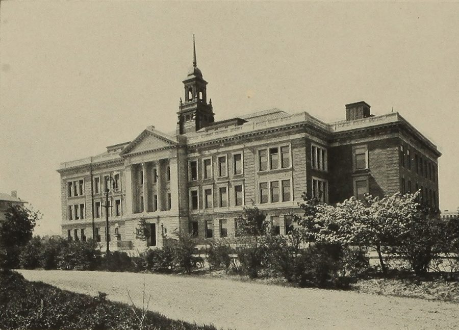 Main College Building circa 1908
