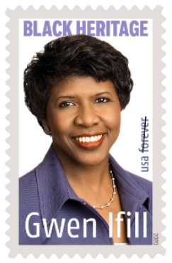 "Gwen Ifill to be Honored with ""Forever Stamp"""