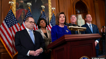 House Democrats Announce Impeachment Articles