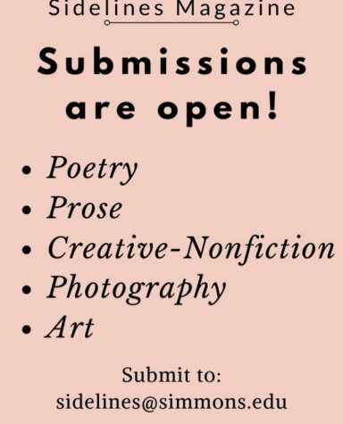 Sidelines is Now Taking Submissions!