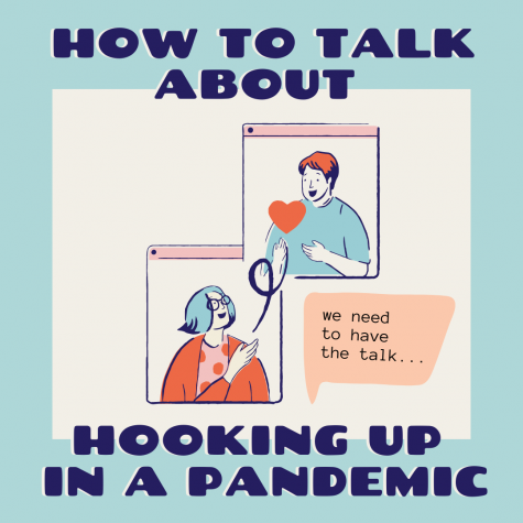 Five tips on how to talk about hooking up during a pandemic