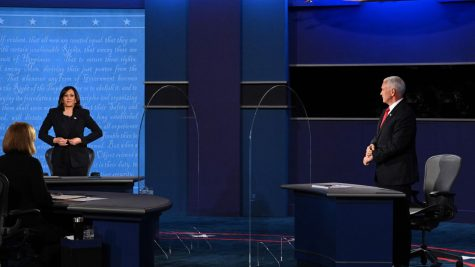 Harris and Pence faced off at last night's VP debate