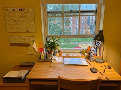 COVID tests, classes and isolation: the story of a first-year living on campus