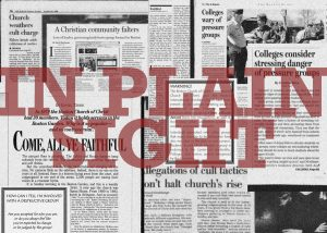 Newspaper clippings from Boston Globe Archives.  Pamphlet obtained by the Voice in 2017 from a Northeastern RA.