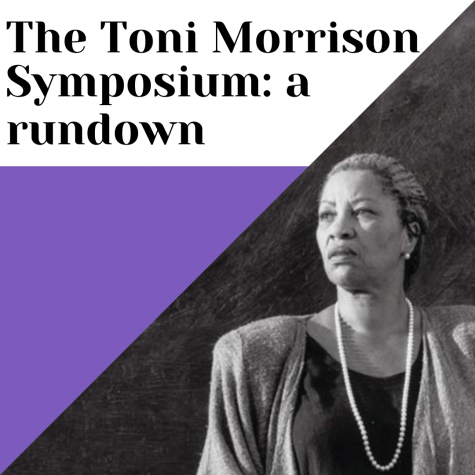 A rundown of the Toni Morrison, Ethics, and Social Justice: A Robert M. Gay Memorial Symposium