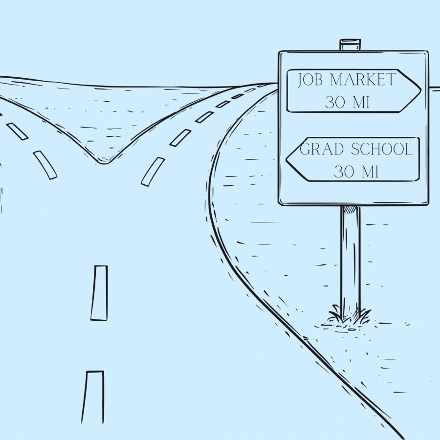 Grad school offers an alternate path post-graduation