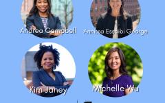 Women head up Boston's mayoral race